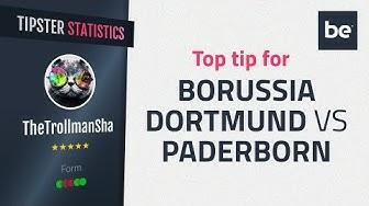 Bet of the Day | Borussia Dortmund vs Paderborn top betting tip