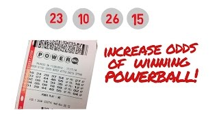 HOW TO INCREASE YOUR ODDS OF WINNING THE POWERBALL LOTTERY ANIMATED