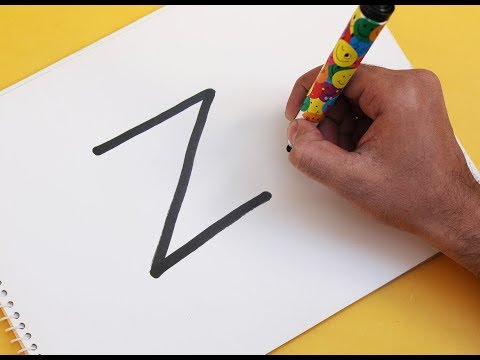 """how-to-turn-letter-""""z""""-into-a-cartoon-zero-from-nightmare-before-christmas"""