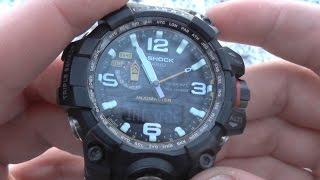 Как пользоваться альтиметром на часах G-Shock Mudmaster GWG-1000