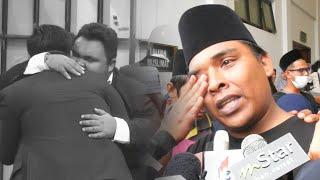"""""""Abam peluk saya lama atas pentas akhir MLM""""- Ali Puteh menangis imbau saat manis dengan arwah abang"""