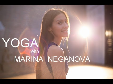 Yoga for beginners. Marina Neganova