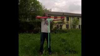 Form Und Schussablauf Beim Traditionellen Bogenschiessen