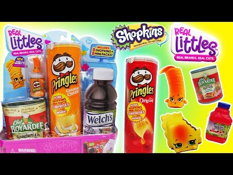 Shopkins Real Littles Lil' Shopper Packs! Real Brands with NEW Shopkins! | Puppy Power Toys