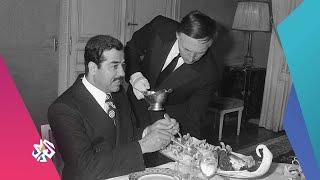 بوتين يخدم صدام حسين ويقدم له القهوة .. اكتشفوا الحقيقة │ بوليغراف