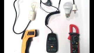 Как экономить электричество. Сравнение светодиодной лампы и лампы накаливания: видео от Electronoff(, 2014-08-21T11:49:12.000Z)