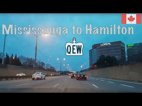 Queen Elizabeth Way (QEW) Mississauga To Hamilton