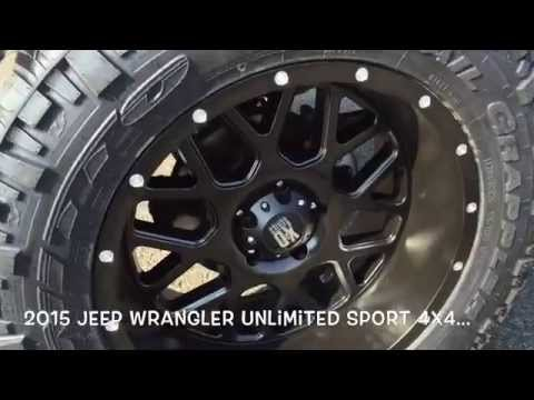2015 Jeep Wrangler at Toyota Dealer in Bowling Green Kentucky