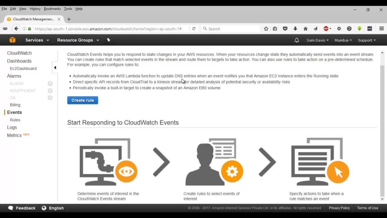 AWS tutorial-Part35:Lab12 | CloudWatch