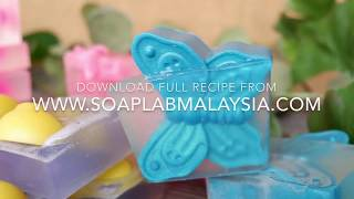 How To Make: Embedded Soap (Butterfly Soap)