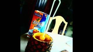 ananas + eistee werbung