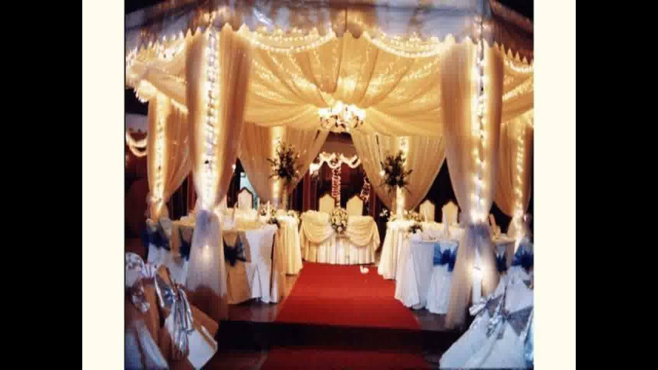 Decoration For Wedding Reception New Youtube