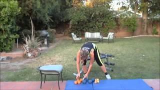 Упражнения для похудения.  Нижняя часть тела.  Часть 4.wmv