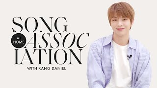 "Kang Daniel Sings Harry Styles, Alicia Keys, and ""PARANOIA"" in a Game of Song Association 