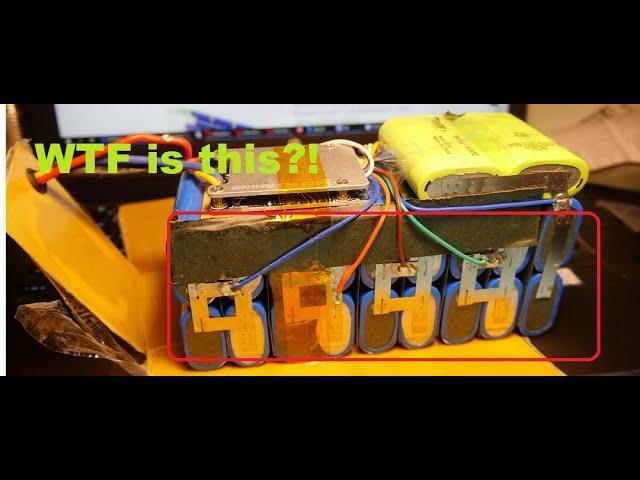 Evel'овская батарея 36V/10.6Ah оказалась фейком или
