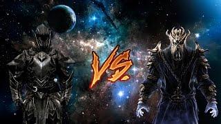 Эбонитовый воин vs Мирак (Skyrim)