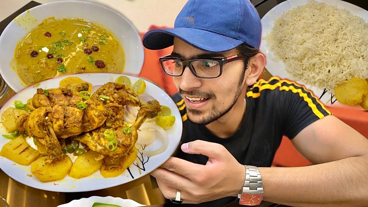 WHOLE CHICKEN CHARGHA By Ammi - Desi Ghee Vali Daal or Rice Recipe