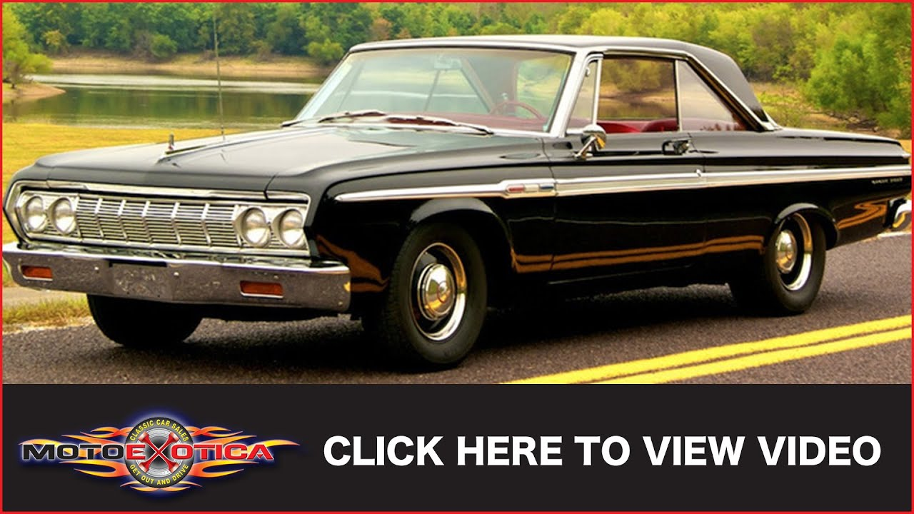 1964 Plymouth Sport Fury Max Wedge Sold Youtube