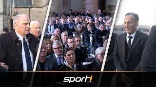 Beerdigung von Rudi Assauer: So nahmen seine Freunde und Weggefährten Abschied | SPORT1
