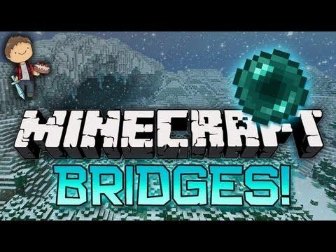 Minecraft: BRIDGES WINTER BATTLE 3.0 Mini-Game! w/Mitch & Friends! ENDER PEARL!