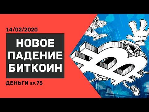 Аналитика курса криптовалюты Биткоин сегодня /ДЕНЬГИ Ep.75