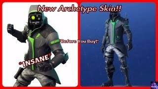 *NEW* Archetype Skin! (Before You Buy) | Fortnite Battle Royale