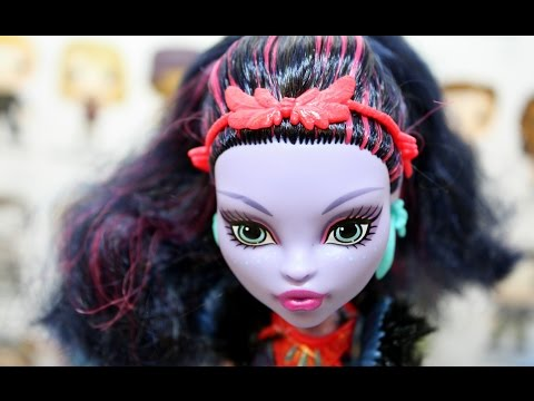 Jane Boolittle   Monster High Doll   Review   Jungle Island   Pet Voodoo Sloth   Unboxing