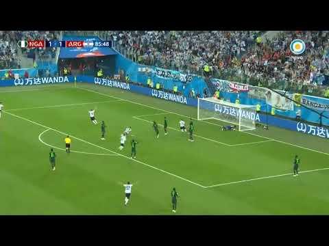 Emocionante relato de vignolo en el gol de Marcos Rojo