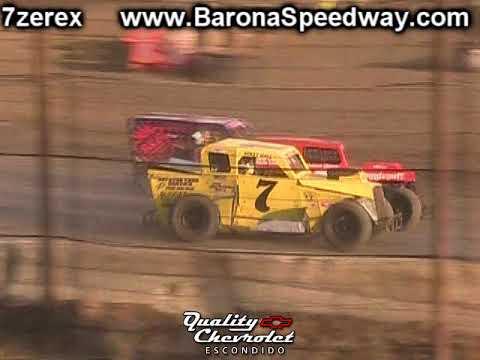 Dwarf Car Heat 2 Barona Speedway 9-9-2017