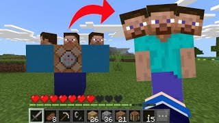 How to summon CURSED STEVE in minecraft