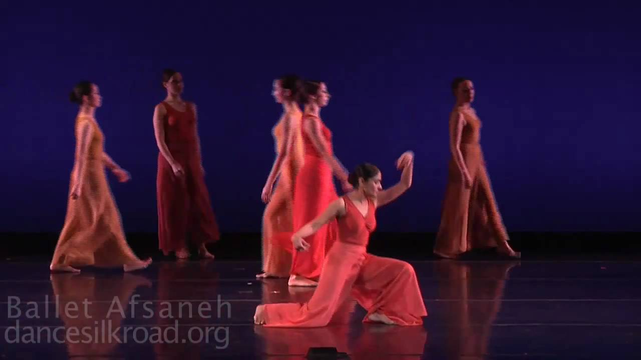 Ballet Afsaneh Industrial Silk Ethno Contemporary Dance Music Youtube