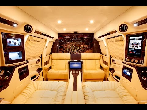 Bespoke Suburban Mobile Office by Lexani Motorcars