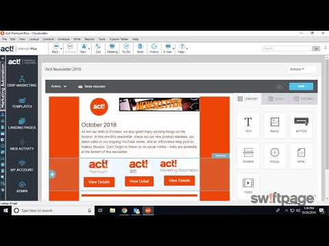 Act! Marketing Automation - Swiftpage Overview