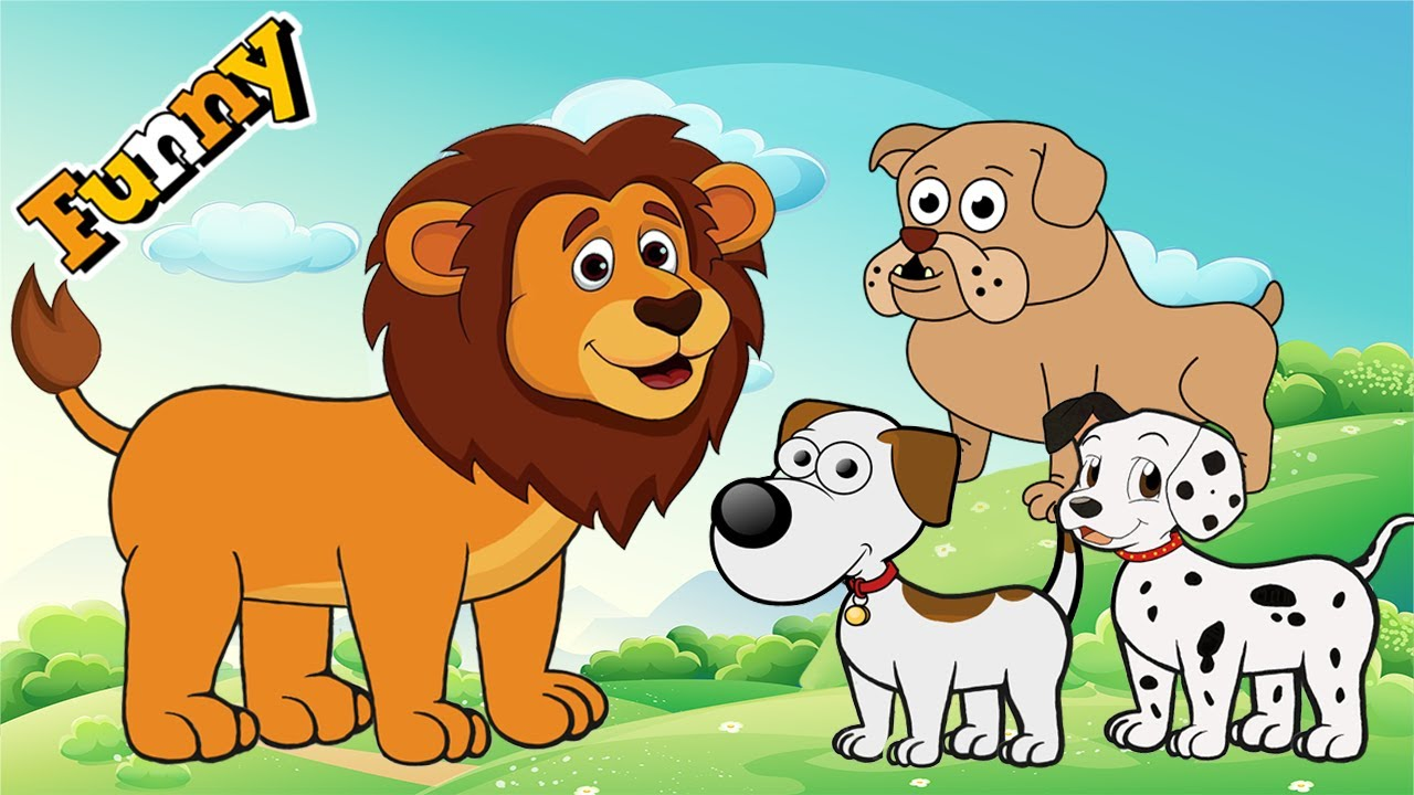 Dogs Cartoons for Children Full Episodes Funny Animals