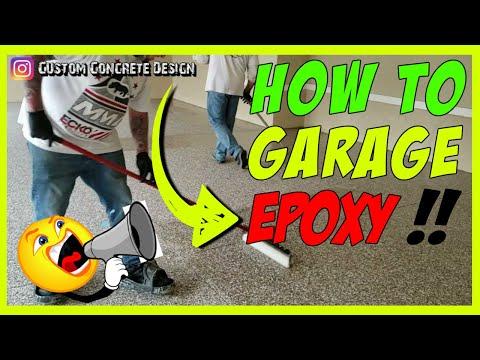 hqdefault - HOW TO GARAGE EPOXY Floor Paint 👷 Epoxy Garage FLOOR COATING Lake of the Ozarks, MO - Concrete Floor Pros