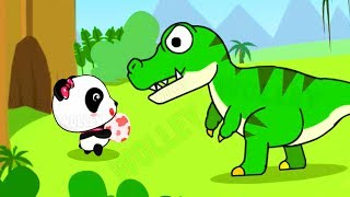 Baby Panda Dinosaur Planet - Baby Play And Learn About Baby Dinosaurs - Educational Video for Kids