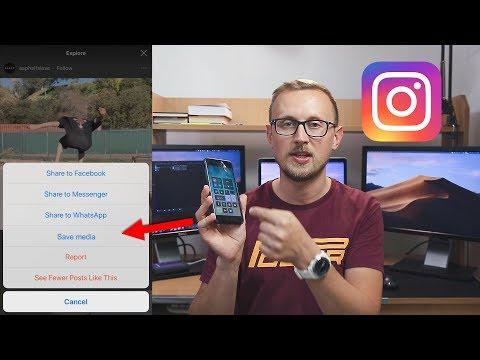 How do i save someones live instagram video