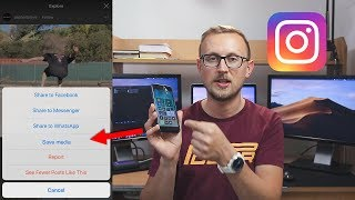 Gambar cover How To Download Instagram Videos & Save Them On ANY Device (iPhone, Android, Mac, Windows)