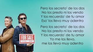 Carlos Vives, Alejandro Sanz - For Sale (Letra/Lyrics)