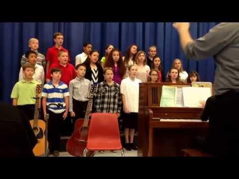 Joshua Fit the Battle of Jericho, Silk Hope School 6 Chorus, 05/21/2015
