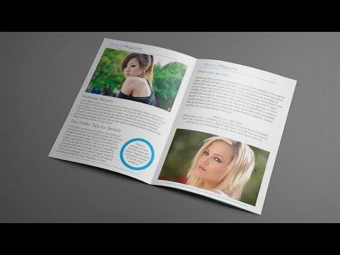 How to Layout Magazine Design | Adobe Illustrator Tutorial