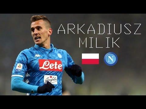 ARKADIUSZ MILIK - Lethal Goals, Skills, Assists, Aerial Duels - SSC Napoli & Poland - 2018/2019 thumbnail