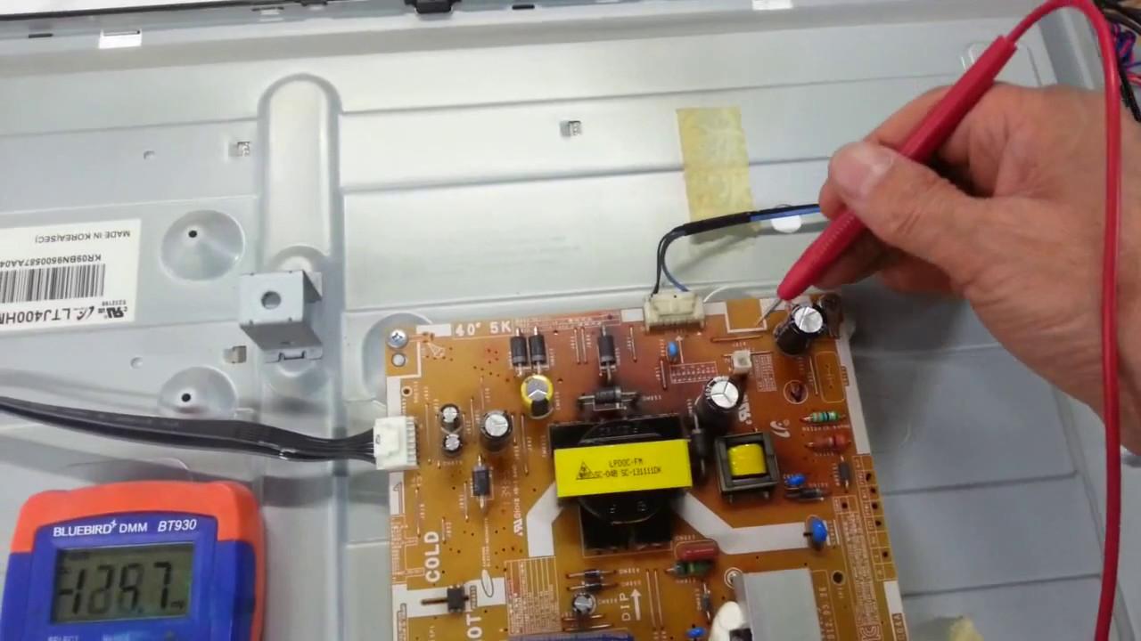 Schemi Elettrici Tv Samsung : Samsung television how to repair led tvs 삼성전자 un eh