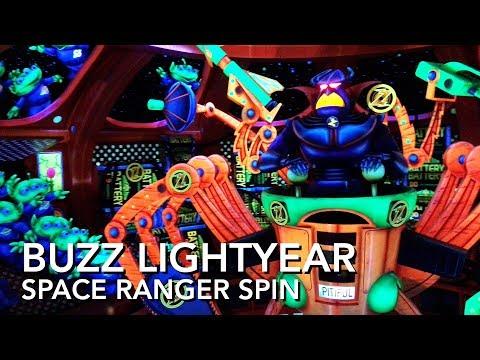 Buzz Lightyear's Space Ranger Spin - Magic Kingdom - Full Ride [4K]