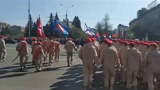 Парад Победы Бессмертный Полк Новосибирск 9 мая 2019г.