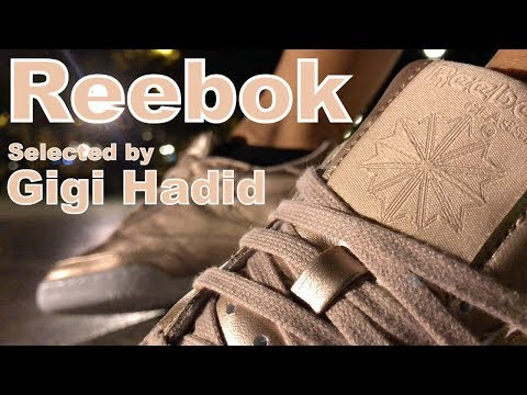Reebok x Gigi Hadid Club C 85 W Melted Metal On Feet NOIRFONCE Sneakers