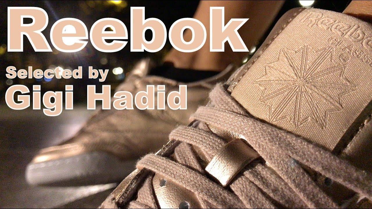 Reebok x Gigi Hadid Club C 85 W Melted Metal On Feet NOIRFONCE Sneakers befcc94ad