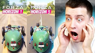 КАК Менялась Forza Horizon... (1-5 часть Форза Хорайзен)