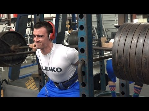 Candito 9 Week Squat Program | Week 1