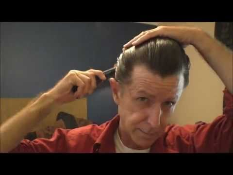 Slicking My Hair back  YouTube